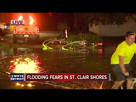 Flooding Fears In St. Clair Shores