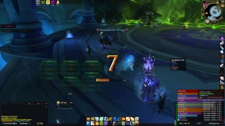 WOW ToS Heroic Desolate Holy Priest Live Stream Trial 4