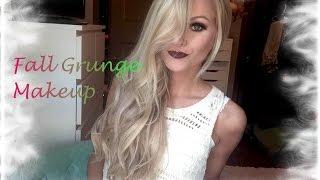 vuclip Fall Grunge Makeup Look | Britany Marie