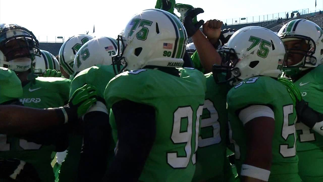 2014 Marshall Football Highlights