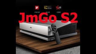 Ультракороткофокусный Проектор JmGo S2 любительский обзор