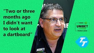 Gary Anderson on 'Getting his HUNGER back' and wanting to add a third Premier League title