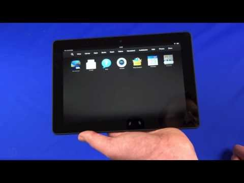 "Kindle Fire HDX 8.9"" unboxing and hands-on"