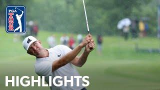 Lucas Glover shoots 7-under 64 | Round 4 | John Deere Classic