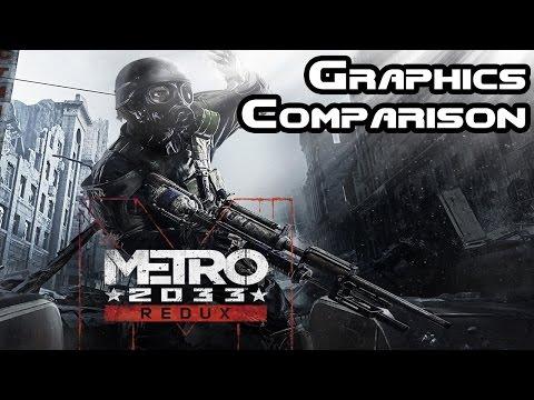 Metro 2033 Redux Vs Metro 2033 Graphical Comparison