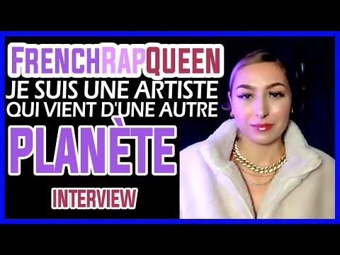 Youtube: FrenchRapQueen – Je suis une artiste qui vient d'une autre planète