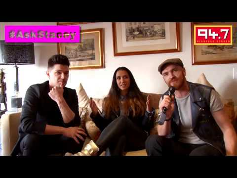 Danny O'Donoghue and Mark Sheehan (The Script) interview on 94.7 Highveld Stereo with Stacey Norman