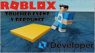 📃🌟How to Make a Script in Roblox Studio Ep.6 Touched Event & Debounce Tutorial in Spanish - 🌟📃