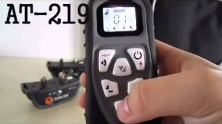 Aetertek At 219s Remote Dog Training Collar Set Up Video Manual