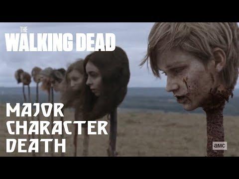 The Walking Dead Season 9 Episode 15   Heads on Pikes Full Scene   Henry's, Enid's, Tara's Death
