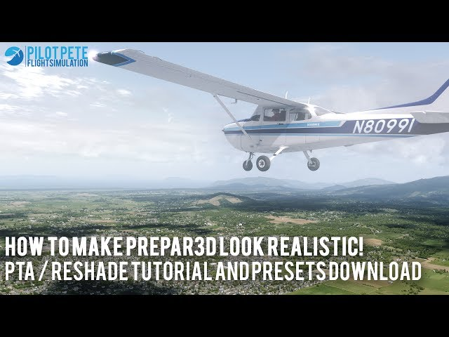 P3D v3/v4] How to make P3D look realistic - PTA / ReShade