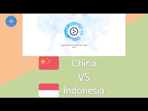 osu!catch World Cup 2016 Round of 16 - Match H - China vs Indonesia
