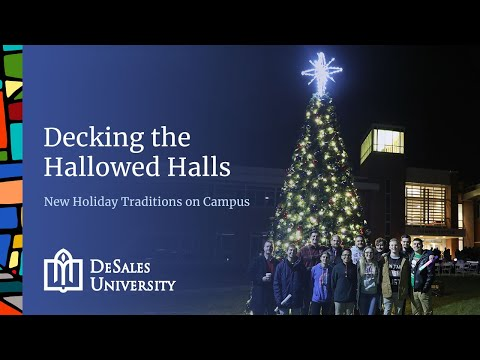O Christmas Tree: Inaugural Tree-Lighting Ceremony at DeSales