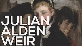 Julian Alden Weir: A collection of 158 paintings (HD)