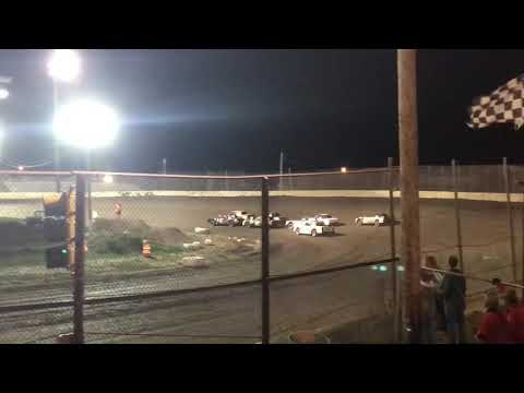 Kankakee County Speedway UMP Factory Stock Heat 2 Sept 21 2018