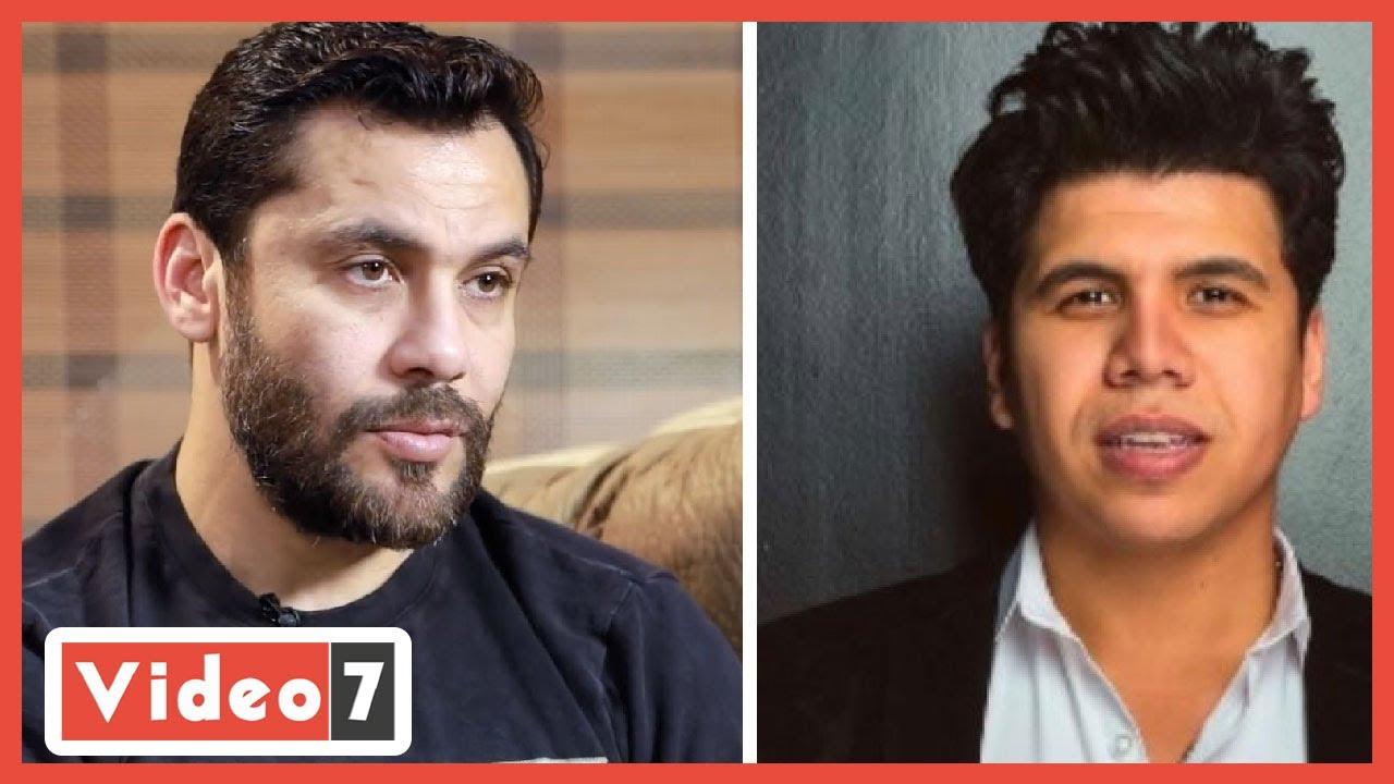 صورة فيديو : عمر كمال يستجيب لطلب أحمد حسن عبر تلفزيون اليوم السابع: هقدم أغاني تعجبك