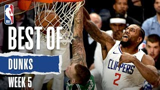 NBA's Best Dunks | Week 5 | 2019-20 NBA Season
