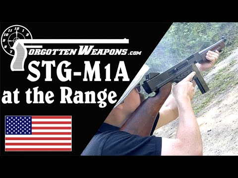 Stemple STG-M1A (Thompson) at the Range