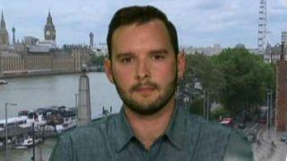American describes seeing van hit people on London Bridge