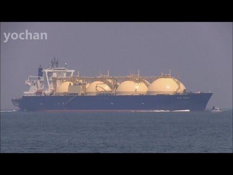 LNG Tanker: ALTO ACRUX (IMO: 9343106)  LNGタンカー・NYK LNG シップマネージメント
