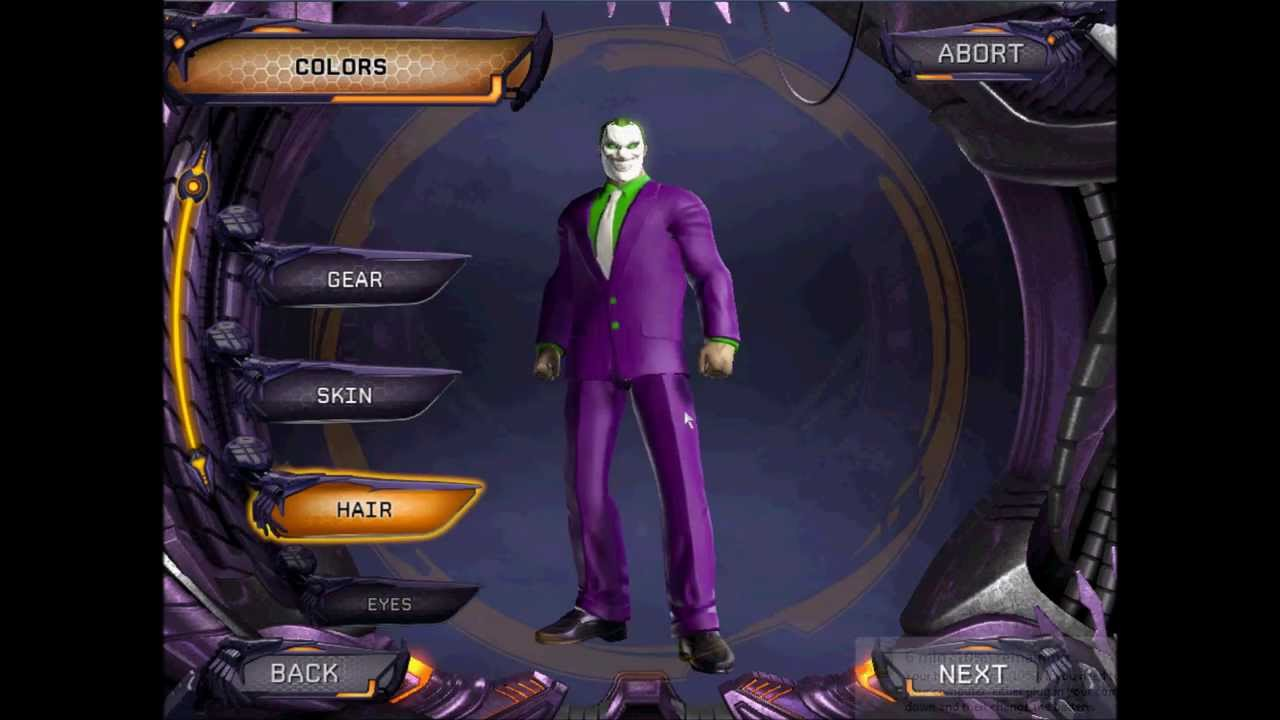 how to create the joker dc universe online youtube. Black Bedroom Furniture Sets. Home Design Ideas