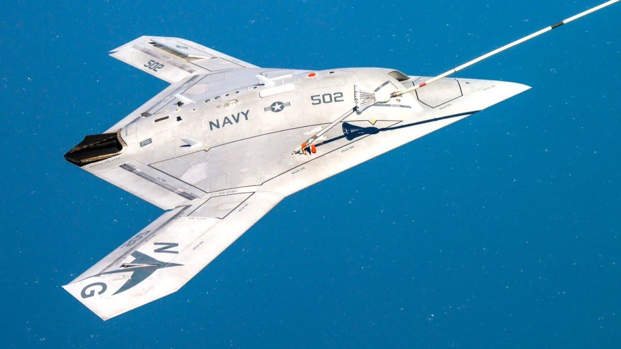"Download ""X-47B""世界唯一舰载无人机为什么神秘消失了?竟然跟东风-26有关~~Why did X-47B disappear?"