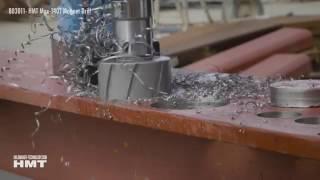 HMT Max 140 Magnet Drill - Large Diameter Broaching Demo
