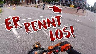 Passanten auf der Straße! | Dual Vlog mit Lucas Lit