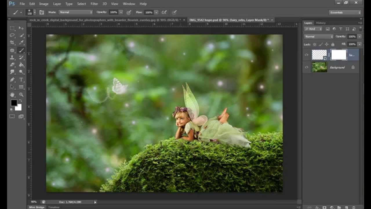 How To Use Fairy Tale Effects Png Overlays Of Orbs