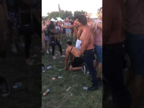 Juice heads fight Mexicans @ spring awakening music festival