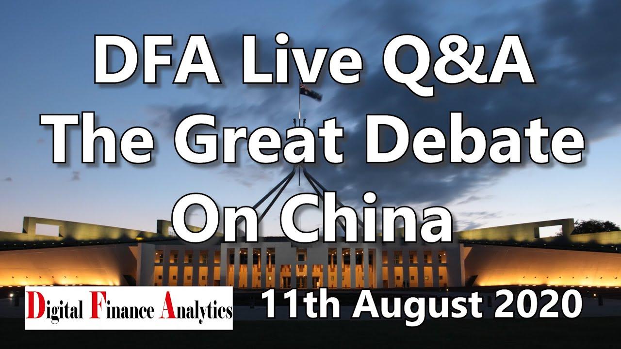 The Great Debate On China - DFA Live HD Replay