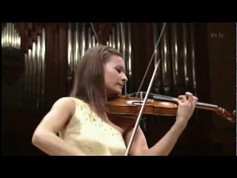 Arabella Steinbacher - Beethoven Violin Concerto 3rd mov. (Ending)