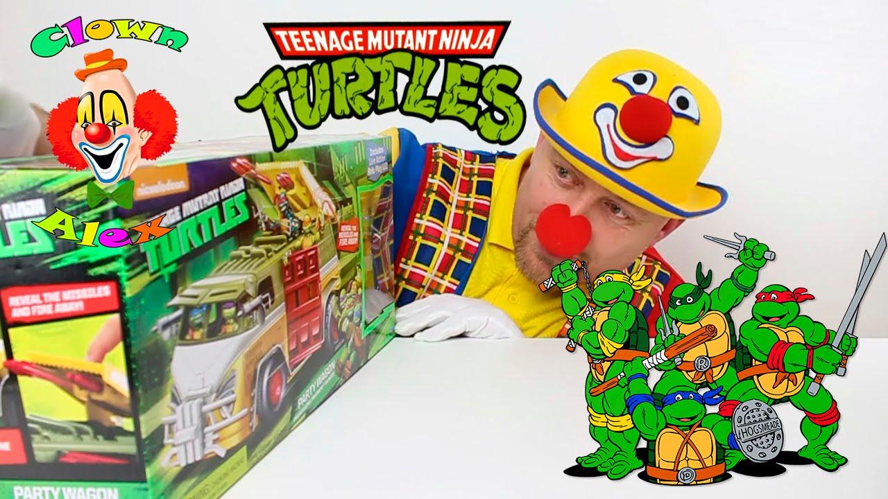 Tartarughe ninja episodio in italiano giocattolo con