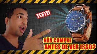 Relogio - Relogio curren é Bom ? Não comprem antes de assistir o video !!