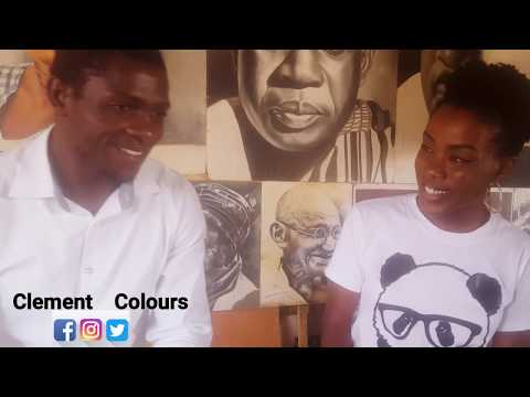 "Interview with Kaduna State based artist ""Clement Colors"""