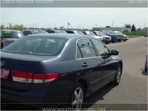 2003 honda accord used cars green bay wi youtube. Black Bedroom Furniture Sets. Home Design Ideas