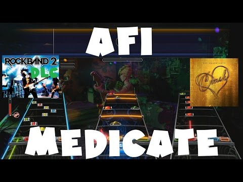 AFI  Medicate  Rock Band 2 DLC Expert Full Band November 17th, 2009