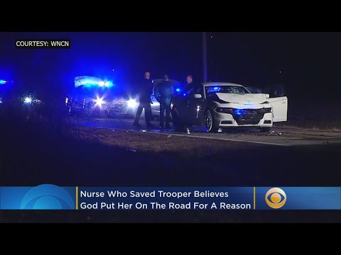 Maria - Good News: Nurse Finds & Saves Trooper Who Was Shot In The Face