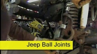 Jeep Ball Joint replacement how to DIY Dana 30 / 44