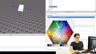 MAKE A GAME ON ROBLOX STUDIO! CODAKID'S SUPER AWESOME OBBY TUTORIAL PARTIE 4