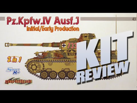 Kit Review: Cyber Hobby 6549  Pz.Kpfw.IV Ausf.J 2 in 1 in 1/35