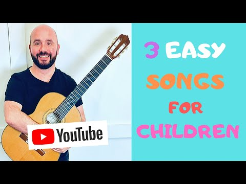 Easy Guitar Songs For Children (BEGINNER LEVEL) from YouTube · Duration:  8 minutes 57 seconds