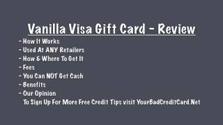 Vanilla Visa Gift Card Review