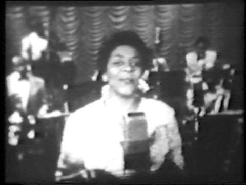 Dinah Washington 'Difference-complete TV segment