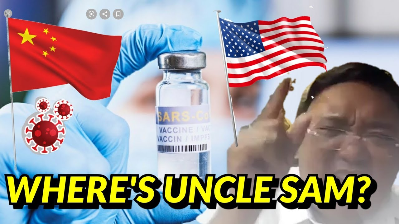 ROQUE: USA HASN'T DONATED ANY VACCINE TO THE PHILIPPINES! CHINA DONATED BUT AT WHAT COST?