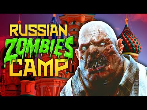 Russian Zombie Camp (Kahlach) (Black Ops 3 Zombies)