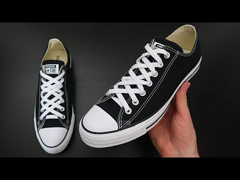 HOW TO DIAMOND LACE CONVERSE (BEST WAY!)