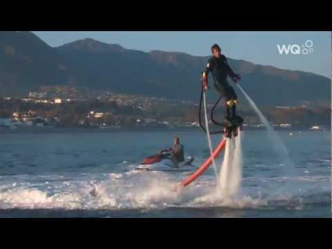 Flyboards für Wagemutige