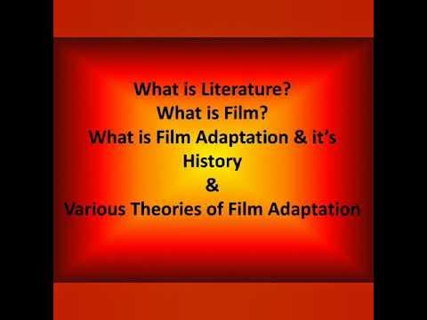 Film Adaptation Theories