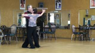 Tango Fallaway  Reverse Slip Pivot Viennese Cross Spanish Drag